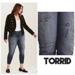 Torrid Graffiti Girlfriend Jeans - 20W